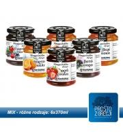 Grecka Konfitura MIX 6 smaków po 370g