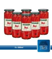 Grecka Papryka Pieczona Czerwona 500ml