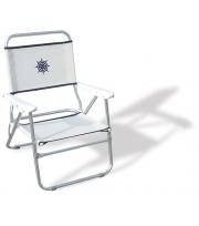 Krzesło Turystyczne Składane Bikini Kolor Biały